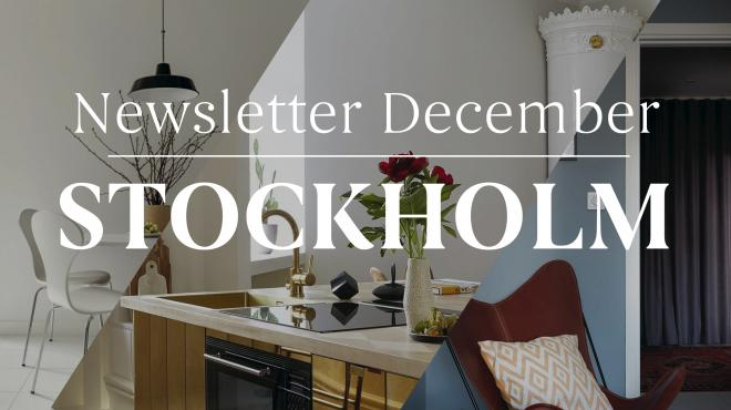 Newsletter December Stockholm